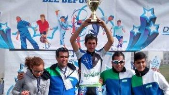 rio negro campeon en mountain bike en los juegos evita